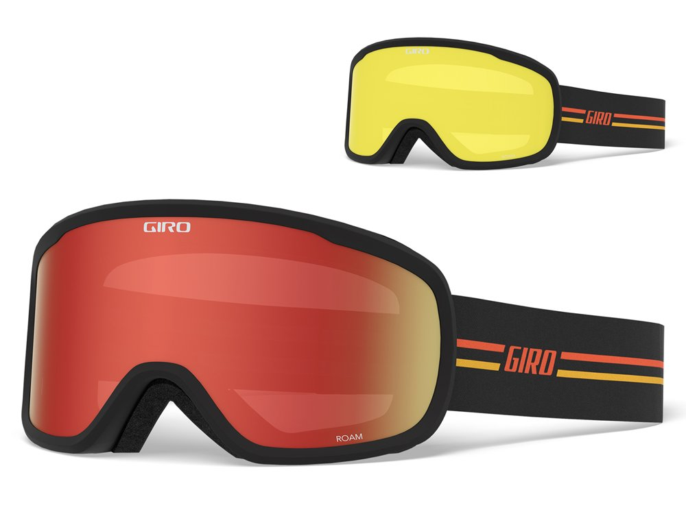 Ski-/Snowboardbrille Giro Roam GP Black Orange